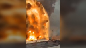 Couple living by Beirut port survives explosion