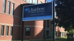 Rainbow District School Board office in Sudbury. Aug. 11/20 (Alana Pickrell/CTV Northern Ontario)