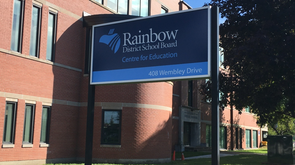 Rainbow District School Board office in Sudbury