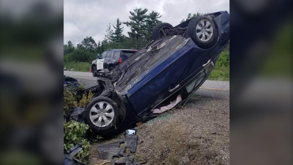 Hwy 400 crash