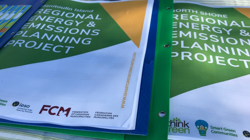 Manitoulin Island Regional Energy and Emissions Planning Project unveiled by Sudbury's ReThink Green. Aug. 11/20 (Ian Campbell/CTV Northern Ontario)