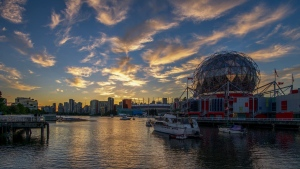 False Creek sunset
