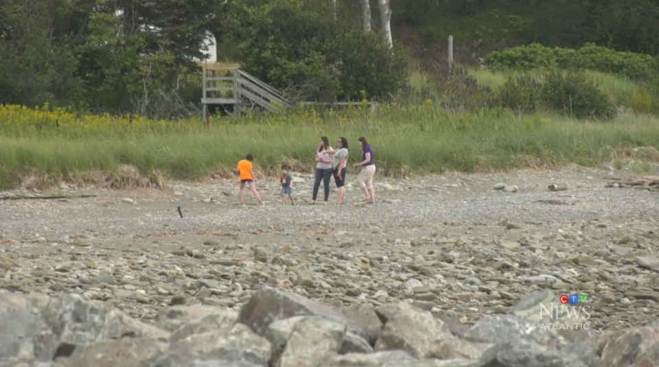 As hot days continue across the Maritimes, some coastal communities are seeing an economic relief.