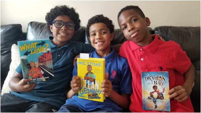 To keep kids reading in a summer of closures and COVID-19, Raptors 905 put out a reading challenge to kids in Peel Region and provided 200 of them with the five books. (CTV News Toronto)