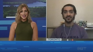 Watch Jessica Gosselin's interview with Hrithik Sharma about his experience with the Tim Hortons Foundation Camps.