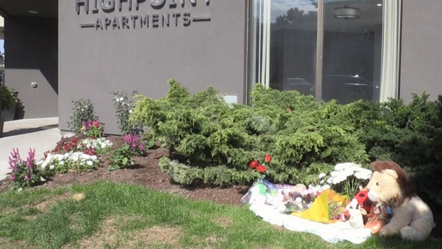 Growing memorial for eight-month-old found dead