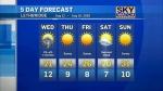 Lethbridge weather Aug. 11, 2020