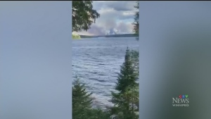Thousands evacuated as Red Lake forest fire burns