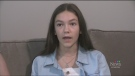 Emma Fisher Steed talks about the explosion that destroyed her home and how she is healing. (Daryl Newcombe/ CTV London)
