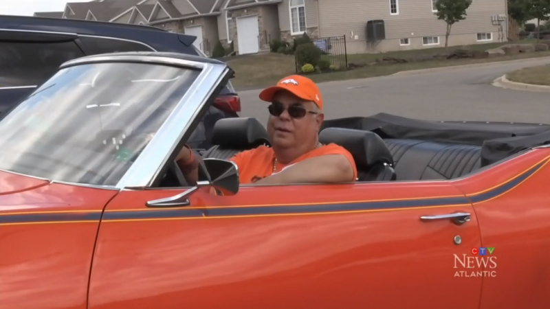 Mike Friedel hoped to take Margaret Davidson for a ride around town in his souped-up red Pontiac GTO convertible last Friday, in what he called 'a sign from heaven from his wife'.