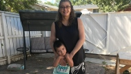 Jocelyn Peace with her grandson, Aiden. Peace would like more social services supports for the family. (Submitted)
