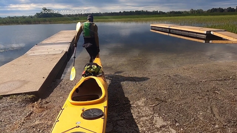 Toronto man paddles length of Lake Ontario