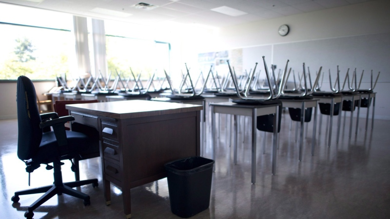 There are currently 18 Vancouver Island schools on the Island Health exposure list. (File photo)