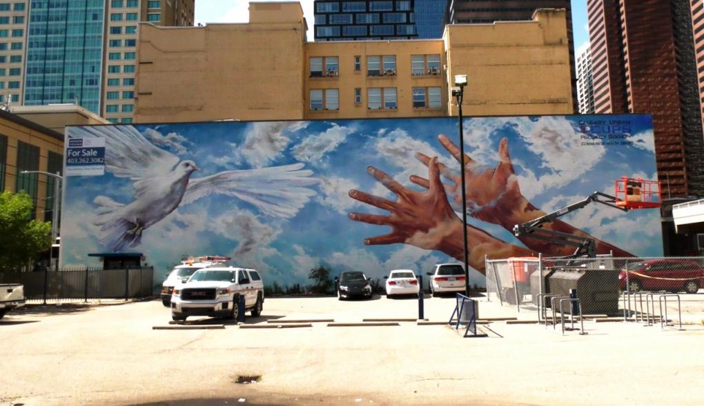 Calgary mural