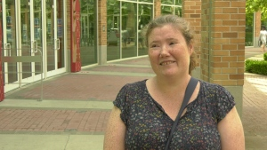 Michelle Wood says her tenancy was cancelled after she informed her landlord that she took a job at a long-term care home.