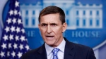 In this Feb. 1, 2017 file photo, former National Security Adviser Michael Flynn speaks during the daily news briefing at the White House, in Washington. (AP Photo/Carolyn Kaster)