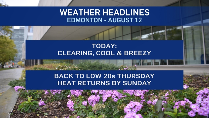 August 12 weather headlines