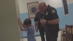 'You're going to jail': 2018 video shows 8-year-ol
