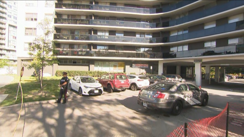 A man shot to death outside a Scarborough apartment tower early Wednesday morning was waiting for a ride to work when he was killed, police say.