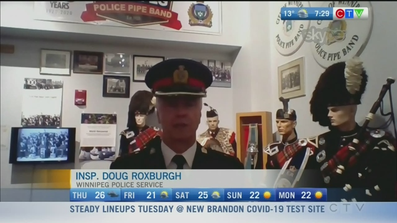 Winnipeg Police Pipe Band celebrates 100 years