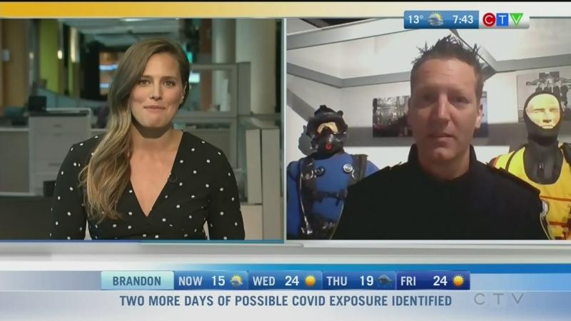 Winnipeg Police Dive Unit marks 50th anniversary