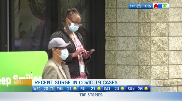 COVID cases rise in BC