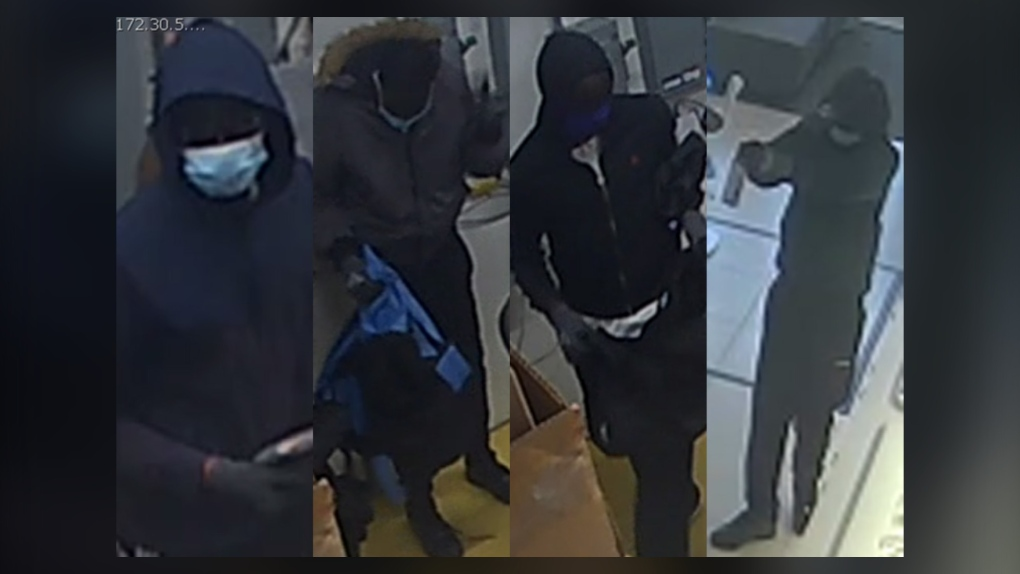 Surveillance, Telus, robbery