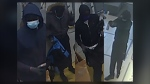 Surveillance images of the suspects in an Aug. 10 robbery at the Telus store in Beacon Hill (CPS)