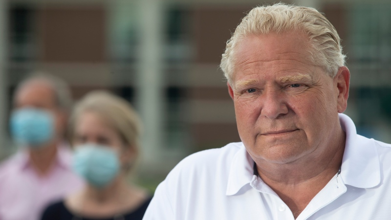 Ont. Premier Ford asked if he will raise taxes