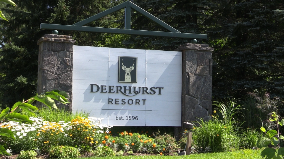 Deerhurst Resort in Muskoka, Ont., Aug. 12, 2020. (Mike Arsalides / CTV News)