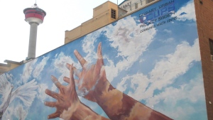 The Giving Wings to the Dream mural may have new life after plans to replace it with a Black Lives Matter mural were halted