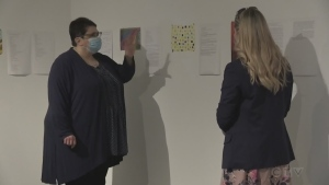 Demetra Christakos of Sudbury Art Gallery talks to Alana Pickrell. Aug. 12/20 (CTV Northern Ontario)