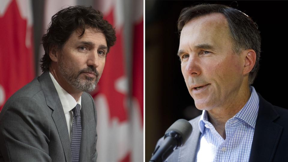 Justin Trudeau Bill Morneau
