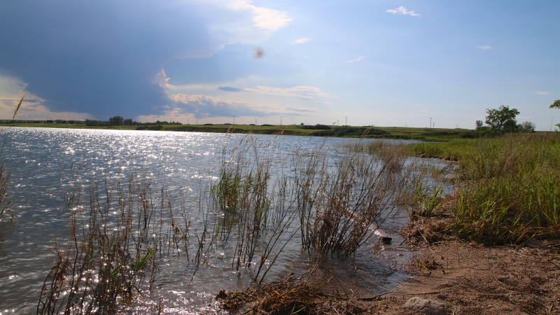 Lake Diefenbaker in an energy, agricultural and recreation hub in Saskatchewan. (Jeremy Simes/CTV Regina)
