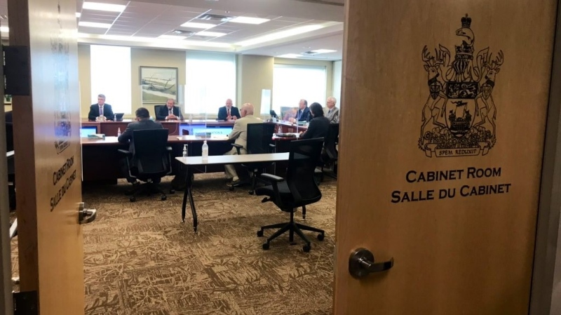 New Brunswick's opposition met with Premier Blaine Higgs on Wednesday to discuss his proposal to avoid a provincial election.