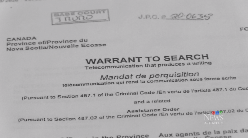 A senior RCMP officer in Nova Scotia who obtained search warrants for the investigation into the mass shooting in April was grilled in court Wednesday about why most of those documents remain heavily redacted.
