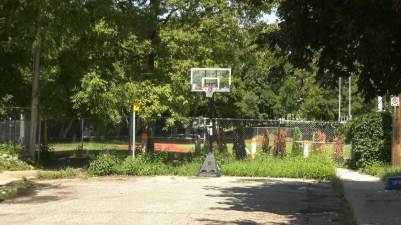 Bylaw tells basketball players to move net