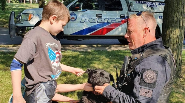 Emergency call leads to unexpected friendship between two young brothers and a Toronto police officer