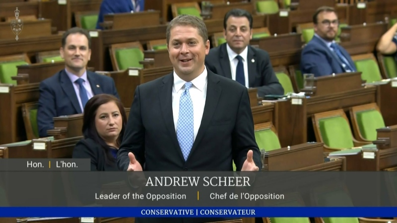 Last day in Parliament for Scheer