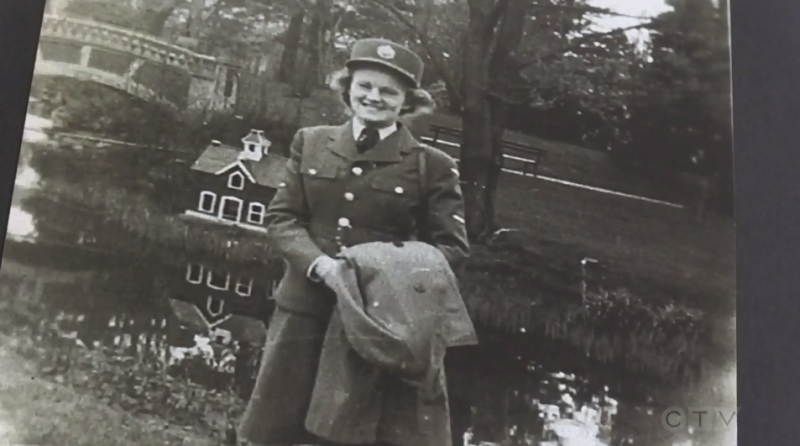 Royal Canadian Air Force veteran Marian Arseneault survived the Second World War, and now finds herself in the middle of a global pandemic, less than a month shy of her 100th birthday.