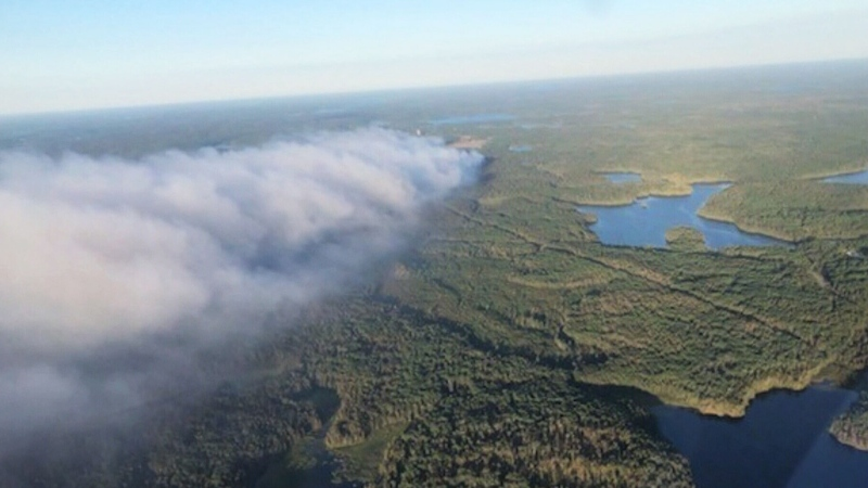 Red Lake fire