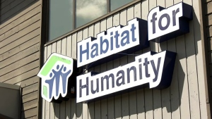 Habitat for Humanity is one of many small charities that are supported by the Calgary Flames Foundation.