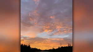 Gorgeous sky in Chemawawin Cree Nation. Photo by Skyler Ledoux.