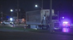 A motorcyclist was killed following a collision in Brampton early Thursday morning.