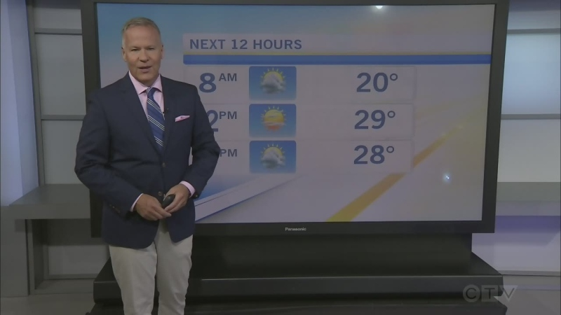 CTV Morning Live Weather Aug 13