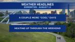 August 13 weather headlines