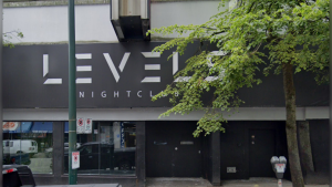Levels Nightclub in downtown Vancouver. (Google Maps)