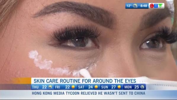 Eye care, skin technique