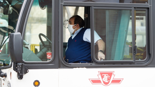 TTC monitoring 15 bus routes for potential overcrowding, union calls for return to full service