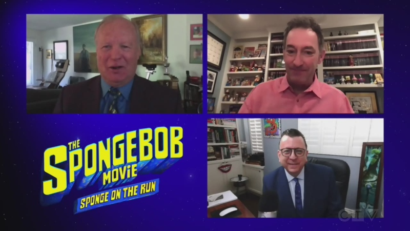 Stars of 'The SpongeBob Movie: Sponge on the Run'